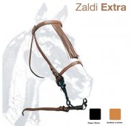 De-luxe Zaldi Vaquera Bridle with throat lash